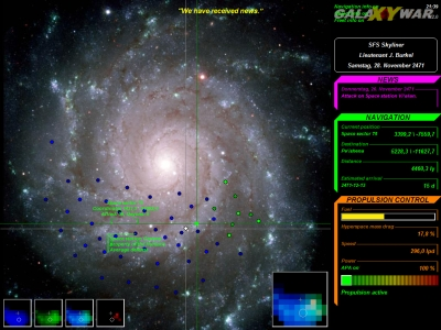 "Screenshot ""Galaxy War"""
